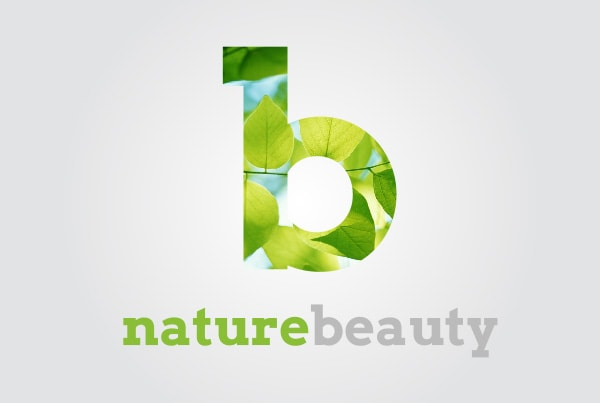 B nature beauty logo