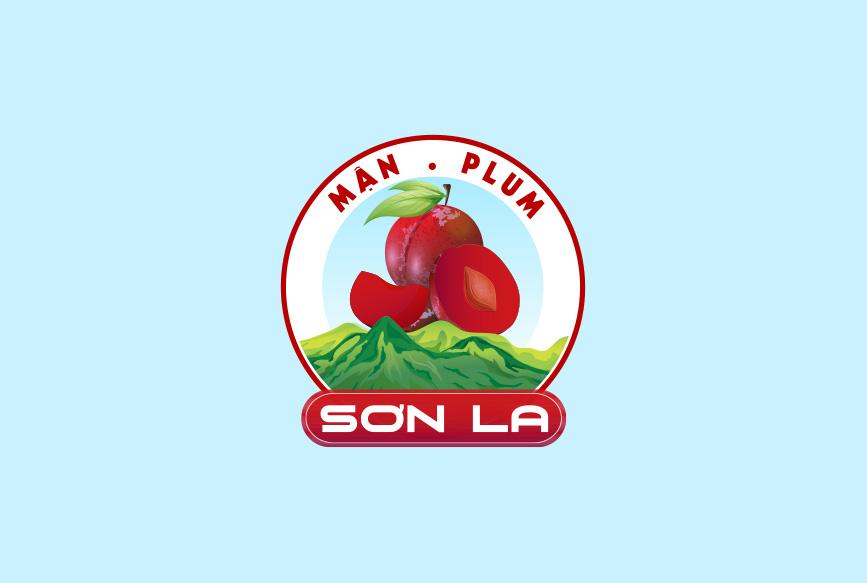 Logo chỉ dẫn địa lý Mận Sơn La