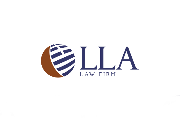 LLA logo & bộ nhận diện