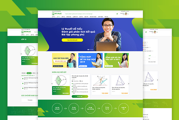 Mathplus website