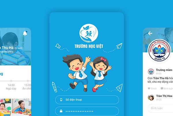 Trường học Việt app/web